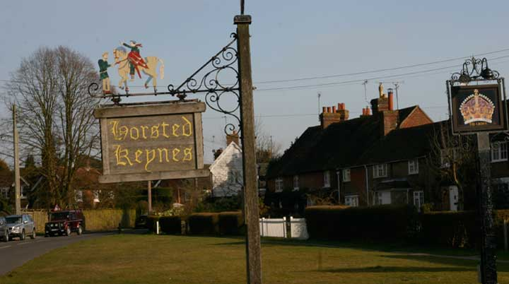 Photo of Horsted Keynes village centre